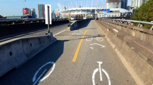 unicycle-road-stencils-on-dunsmuir-viaduct-oct-6-2014