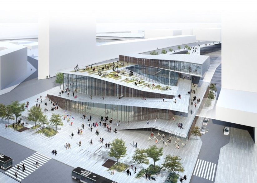 Saint-Denis-Pleyel-©-Société-du-Grand-Paris-Agence-Kengo-Kuma-associates-